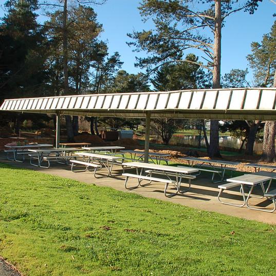 Pavilion & BBQ Area
