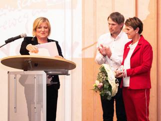 Karin Rasch-Boos mit WLSB-Ehrennadel ausgezeichnet