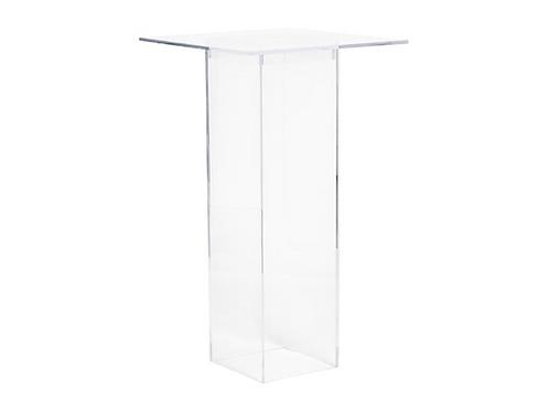 Hollywood Bar Leaner - Clear Acrylic