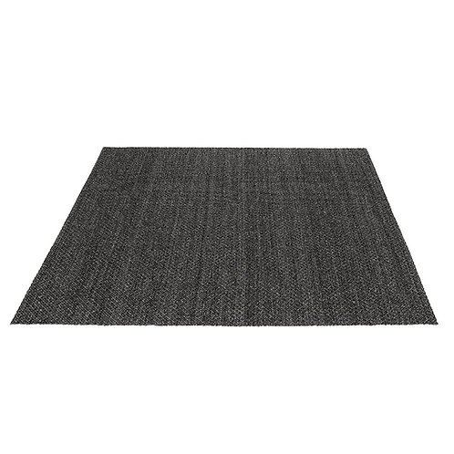Square Rug - Charcoal