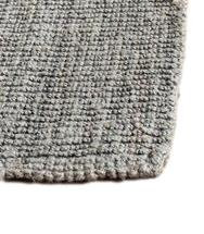 Grey Looped Jute Rug