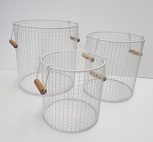 Wire Baskets (set of 3)