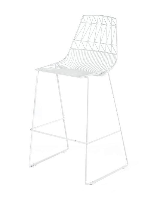 Arrowe Bar Stool - White