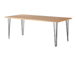 Hairpin_Black_Trestle_Dining_Table_D&G E