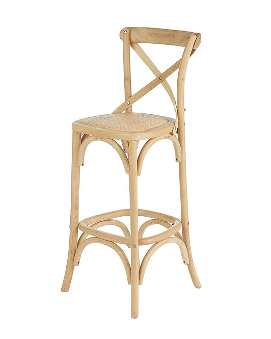 Hamptons Cross Back Bar Stool
