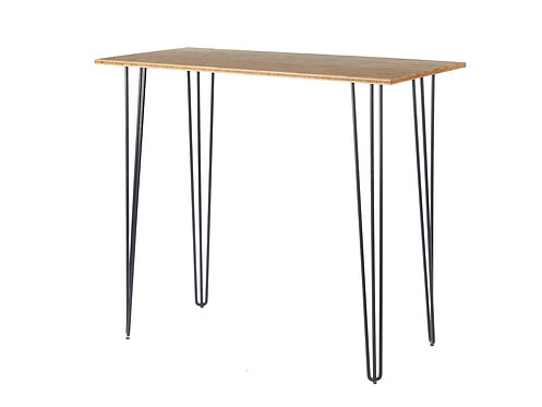 Black Hairpin Bar Table