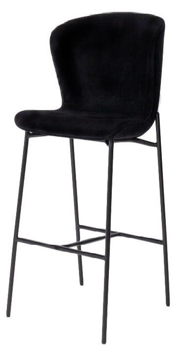 Athena Velvet Bar Stool