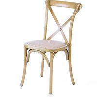 Hamptons_Cross Back Chair_Oak_D&G Event