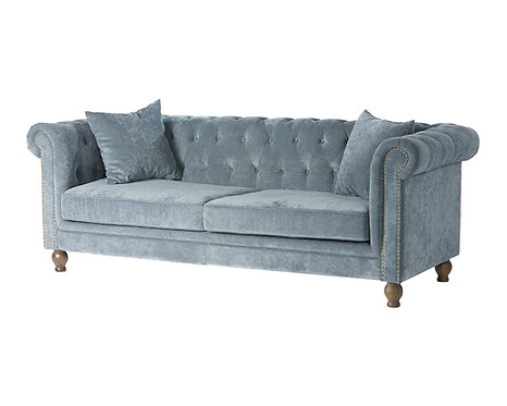 Chesterfield Velvet Grey