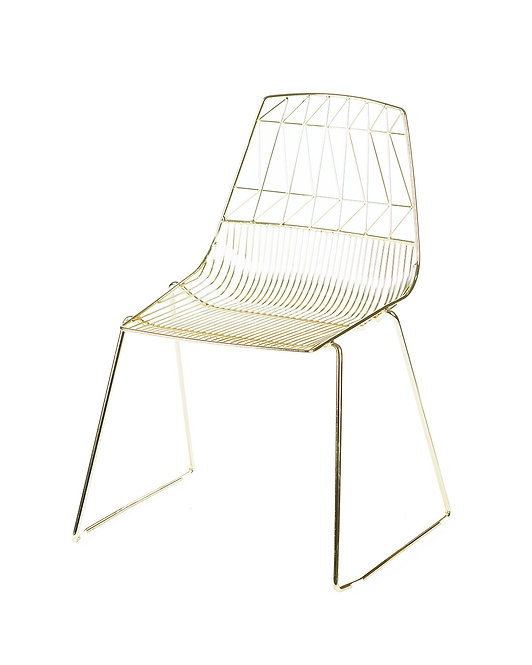 Arrowe Chair - Gold