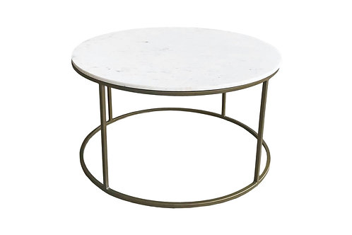 Carrara Solid Marble Coffee Table