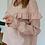Thumbnail: Blouse Elisa Lin Rose (2 longueurs disponibles)