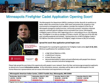 Minneapolis Fire Cadet Application - Apply NOW!
