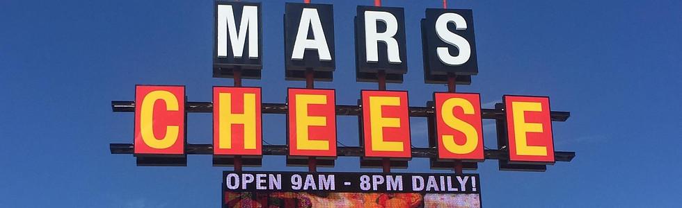 Mars Cheese Unique Sign