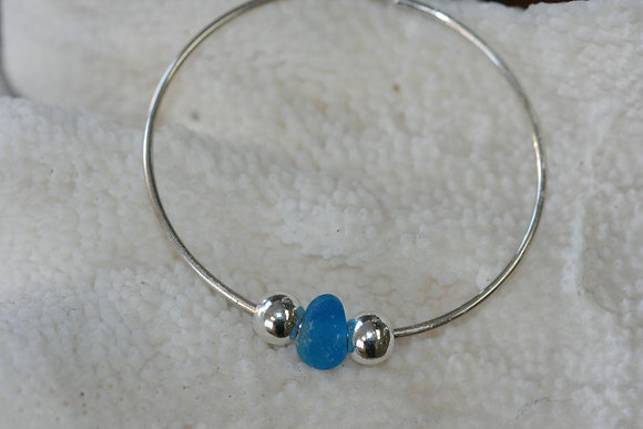 sea glass bracelet SGB-04