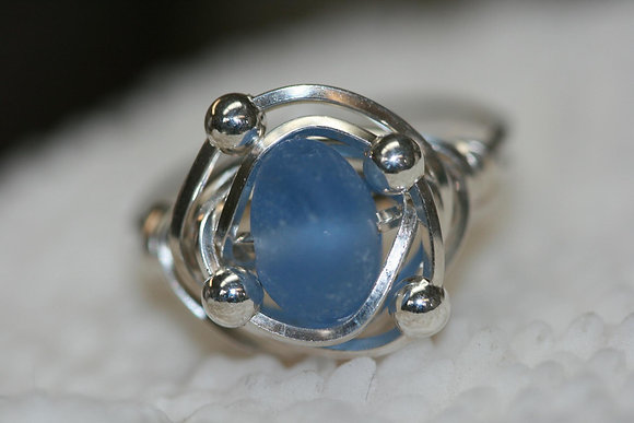 sea glass ring SGR-01