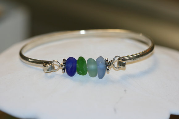 sea glass bracelet SGB-02