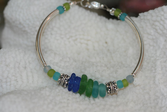 sea glass bracelet SGB-01