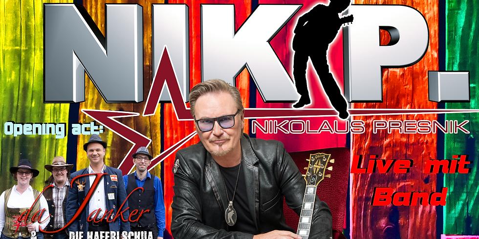 Nik P. und Band live in Ruhstorf