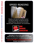 Speed Reading Quick One Minute Lessons
