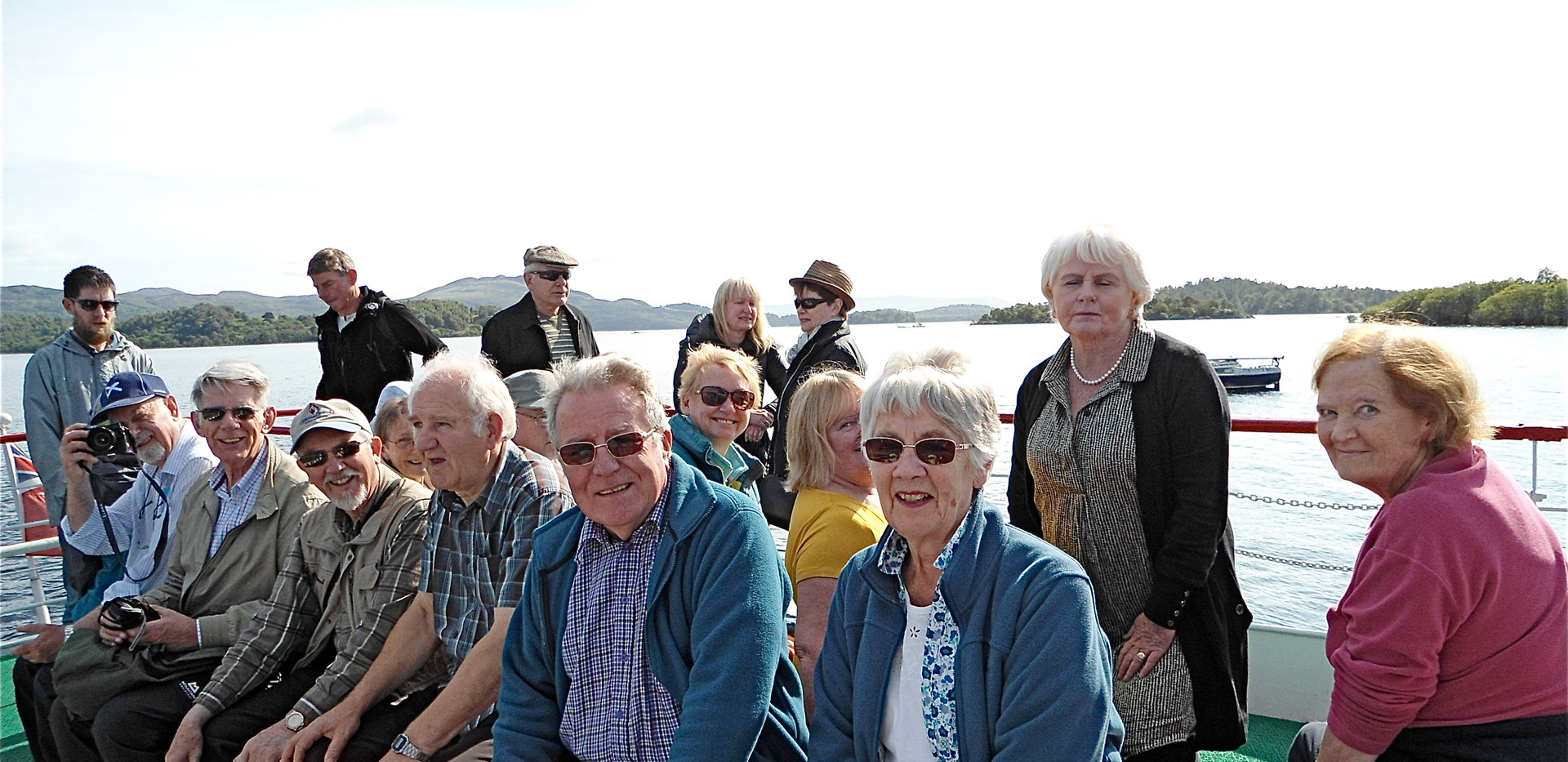 Sailing to Inchcailloch