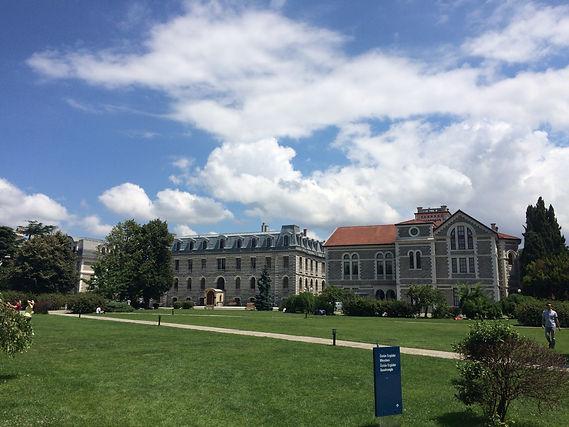 Dijital Pazarlama İletişimi Sertifika Programı'nın gerçekleştiği Boğaziçi Üniversitesi Güney Kampüsü'nen bir görüntü.