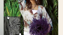 Elizabeth Rhoads Read fiber art in Gulfshore Life magazine