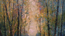 Nancy Lindsay, Plein Air Landscape Painters at Black Earth Gallery