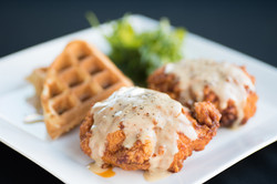 Hot Chicken & Waffles