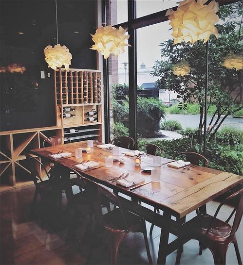 Ahso Restaurant Private Dining Room
