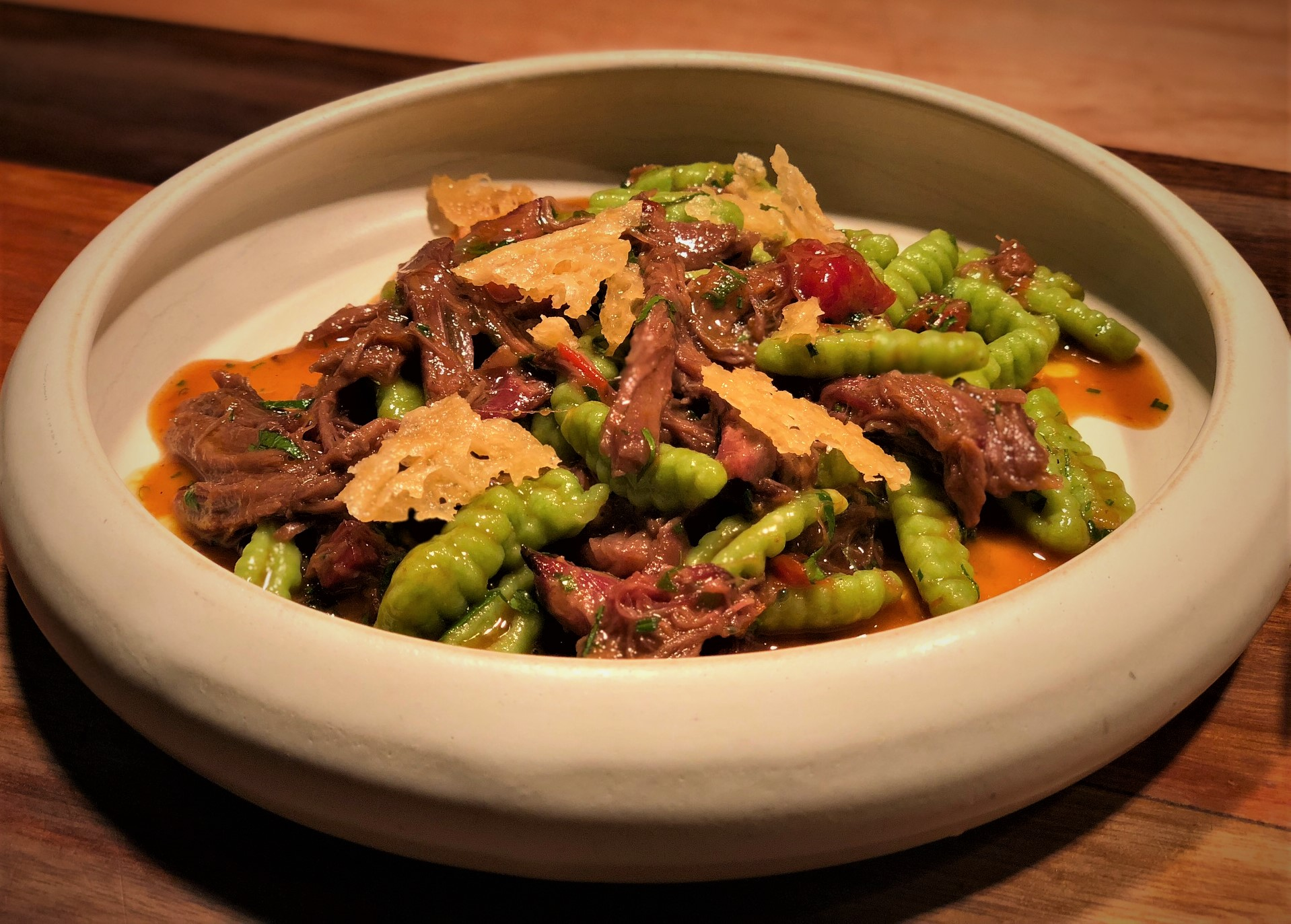 Roasted Lamb Ragout
