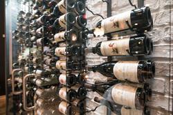 Wines on display at Ahso
