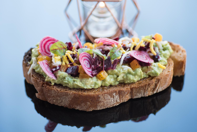 Avocado & Beet Toast