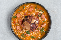 Pork Shank 'Cassoulet'