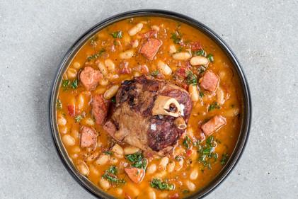 Pork Shank Cassoulet
