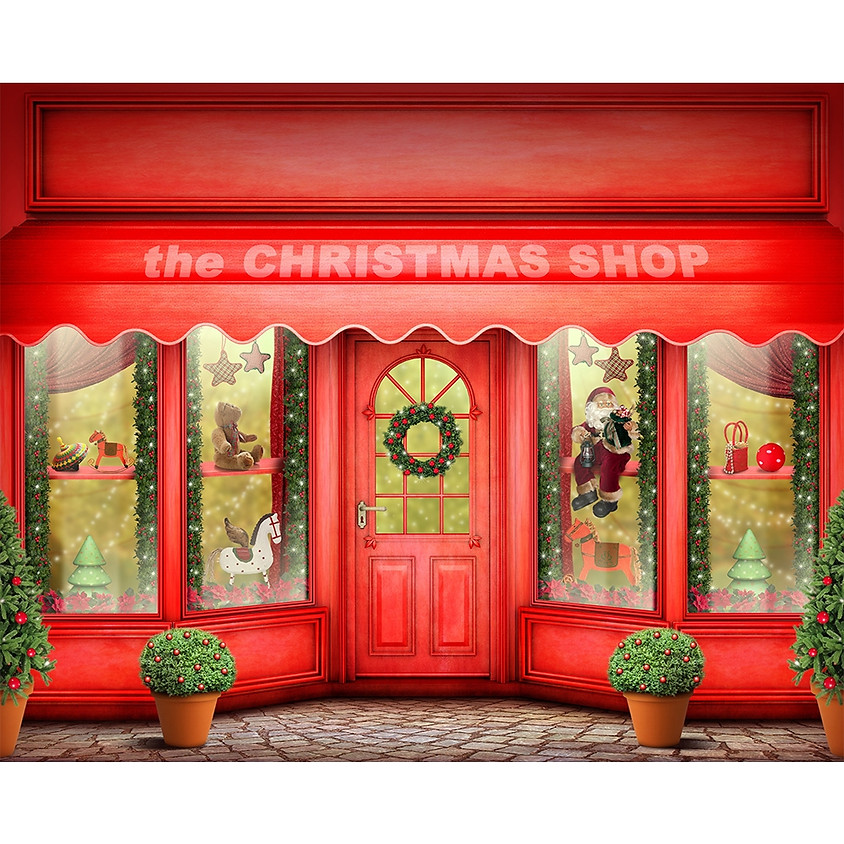 The Christmas Toyshop by Michele L. Vaca