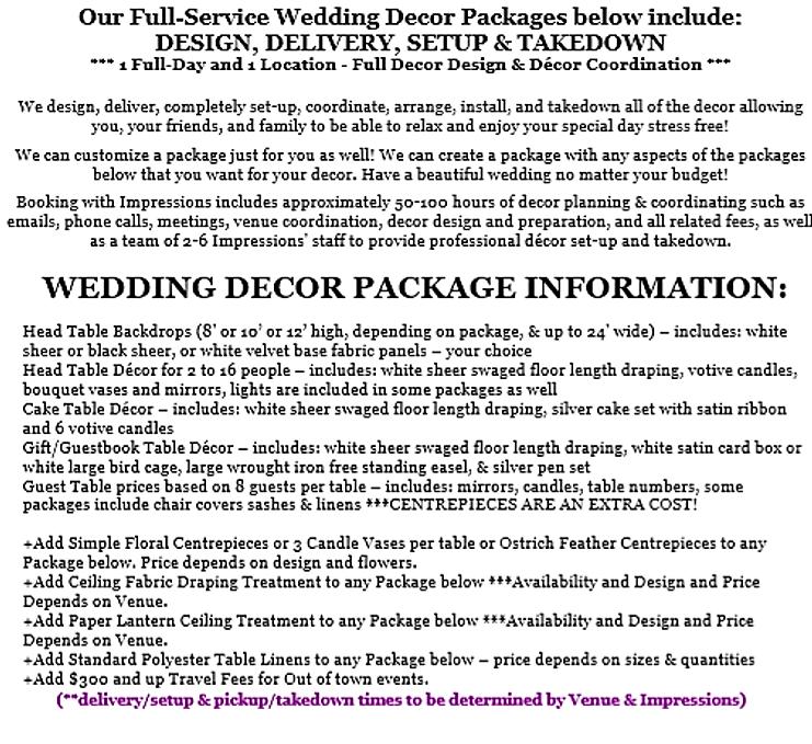 Impressions Weddings Events