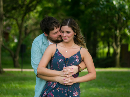 Kaleigh and Forest Engagement Session