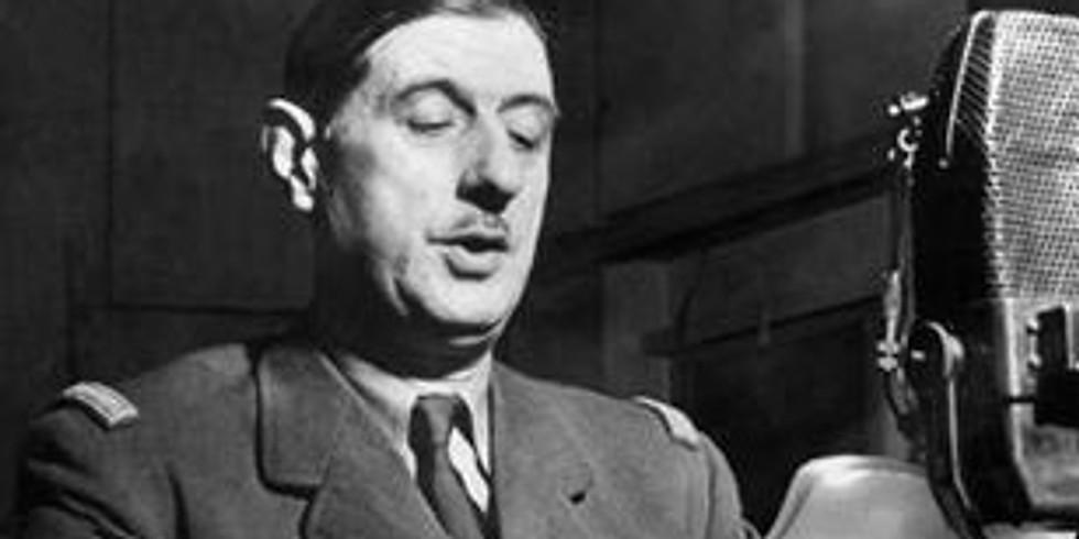 (2019) Conférence : Charles de Gaulle, le patriote