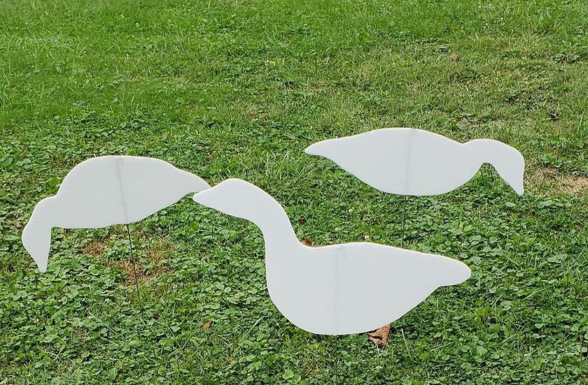 White Goose silhouettes