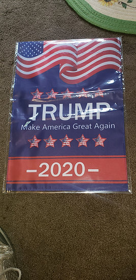 Donald Trump garden flag