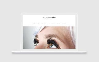 M Lashbar Pro E-commerce Website