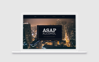 ASAP Alcohol Delivery Website