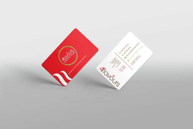 4 Flavours Business Card
