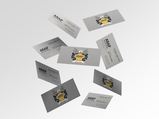 ASAP Alcohol Business Card