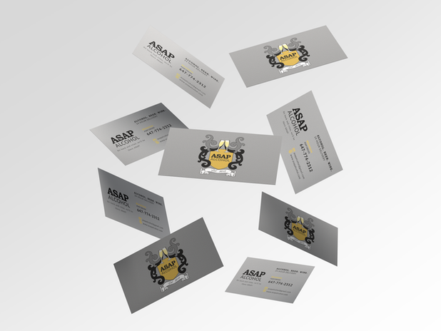 ASAP Alcohol Business Card