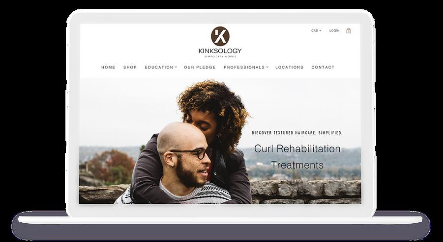 kinksology-website-macbook-front-display