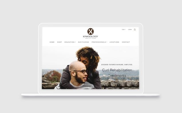 Kinksology E-commerce Website
