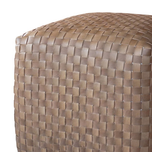 Weave Ottoman