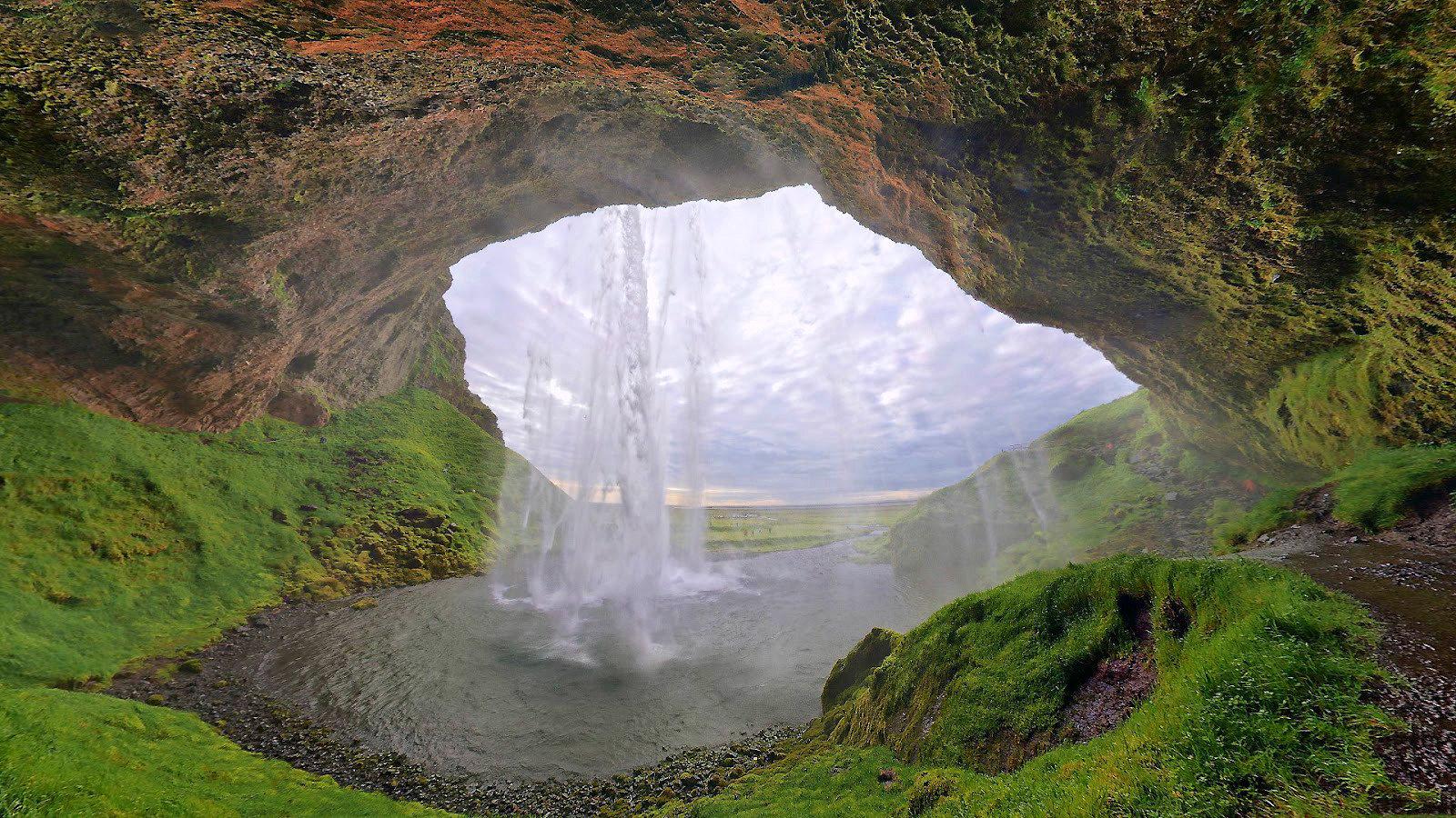 Cascada Santa Ana - Selva Valdiviana